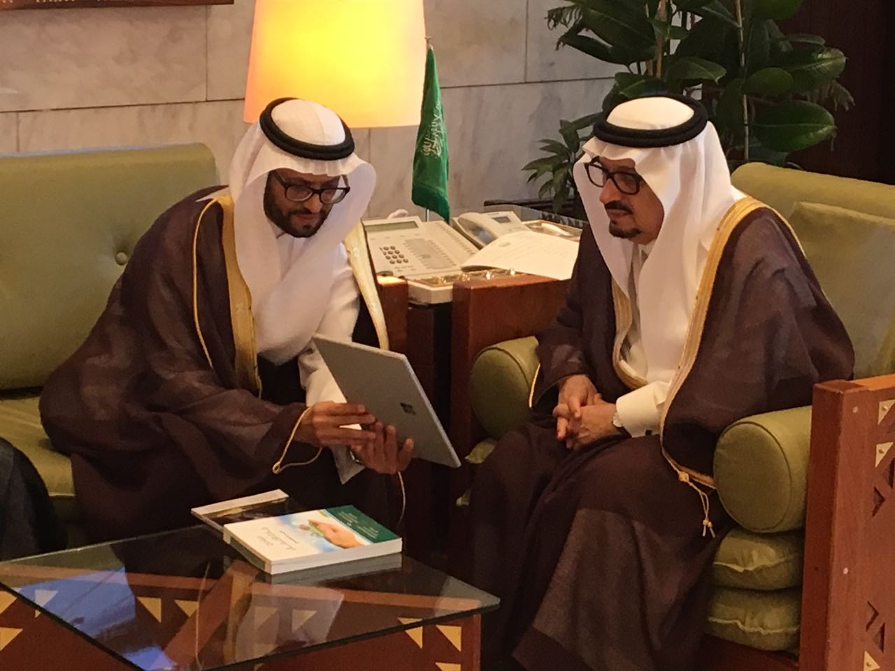 لقاء صاحب السمو الملكي أمير منطقة الرياض برئيس وأعضاء مجلس الإدارة ورؤساء اللجان